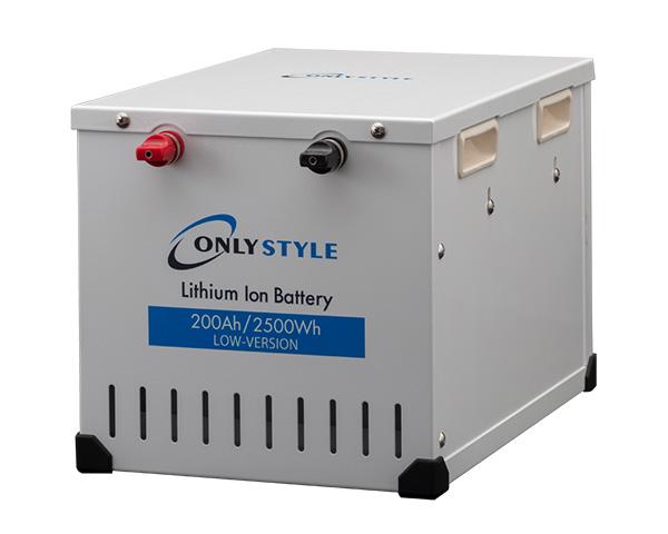 リチウムイオンバッテリー2500Wh(200Ah)Low-version製品情報