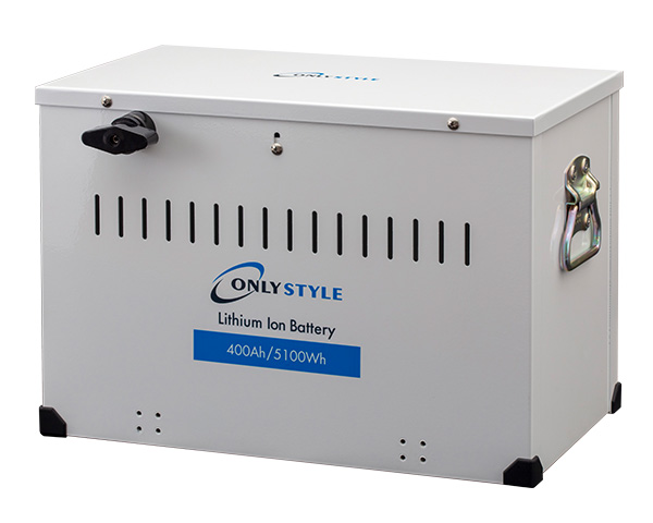 リチウムイオンバッテリー5100Wh(400Ah)製品情報