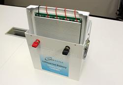 SimpleBMS標準搭載のオンリースタイルリチウムイオンバッテリー