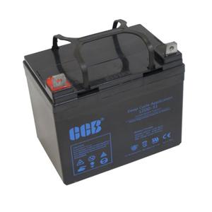 CCB社製 高性能AGMディープサイクルバッテリー 12DD-33(33Ah)