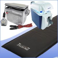 車中泊専用マット+パワーパックスリム+冷温蔵庫セット